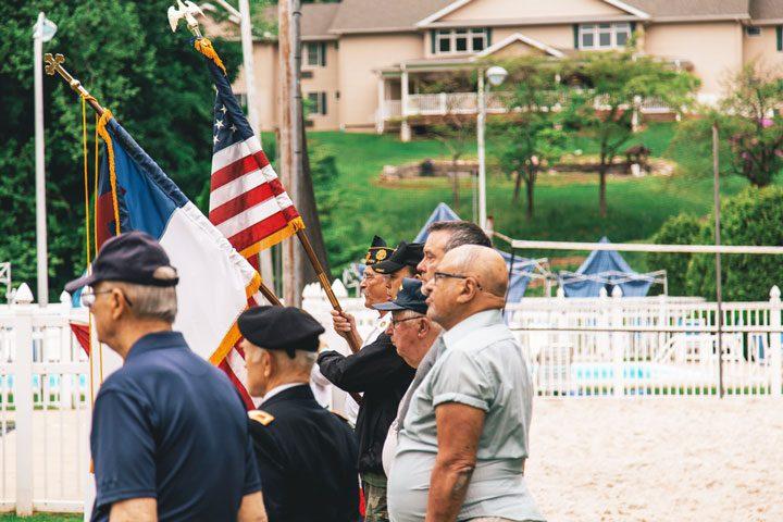 memorial at navy station - shooting