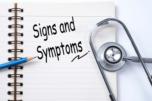 paper reading signs and symptoms