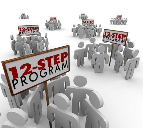 12 step program concept